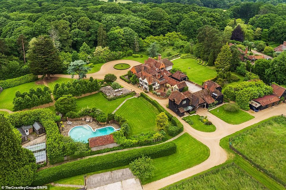 صورة لحديقة العقار البريطاني