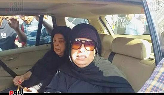 جنازة شقيقة فيفى عبده (3)