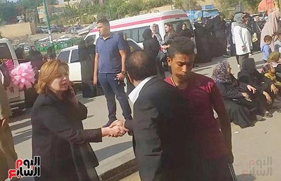 جنازة شقيقة فيفى عبده (2)