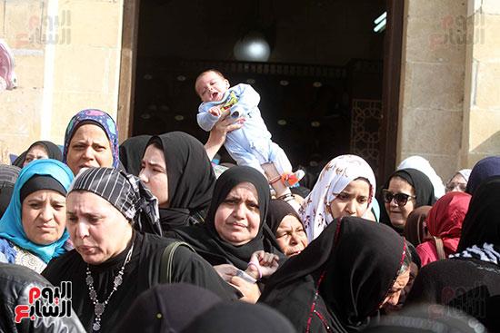 جنازة شقيقة فيفى عبده (4)