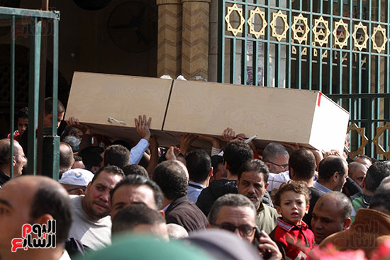 جنازة شقيقة فيفى عبده (1)
