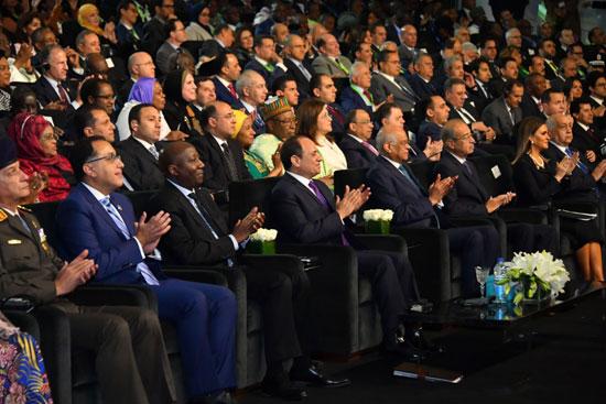 السيسى خلال مؤتمر أفريقيا 2019 (8)