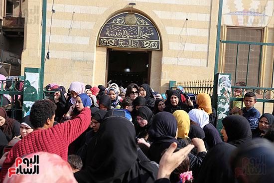 جنازة شقيقة فيفى عبده (15)