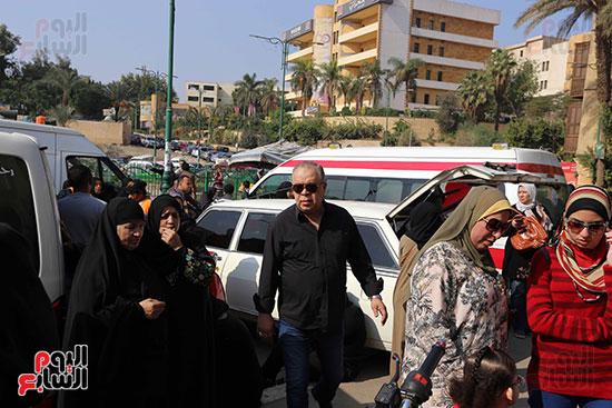 جنازة شقيقة فيفى عبده (7)