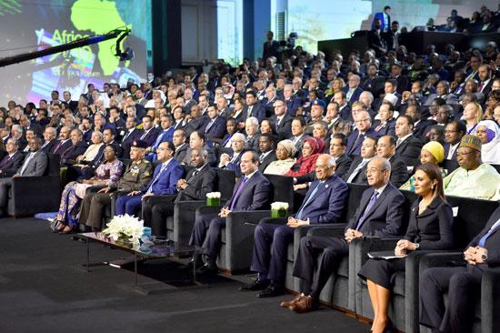 السيسى خلال مؤتمر أفريقيا 2019 (6)