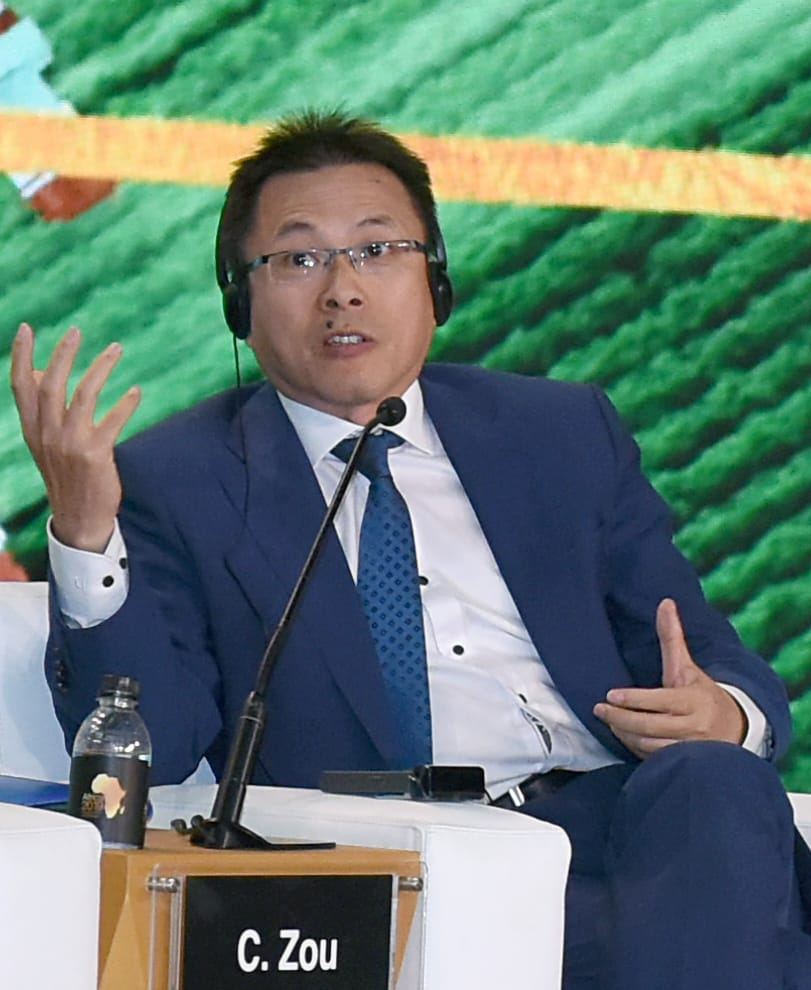 سيو نجزو كبير مسؤولى الشركات بمنظمة الأمم المتحدة للتنمية الصناعية