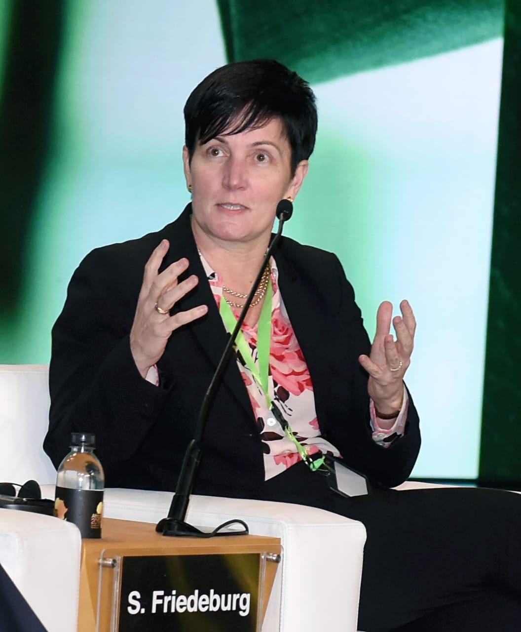 ستيفانى فون فريديبرج الرئيس التنفيذى للأعمال لدى مؤسسة التمويل الدولية