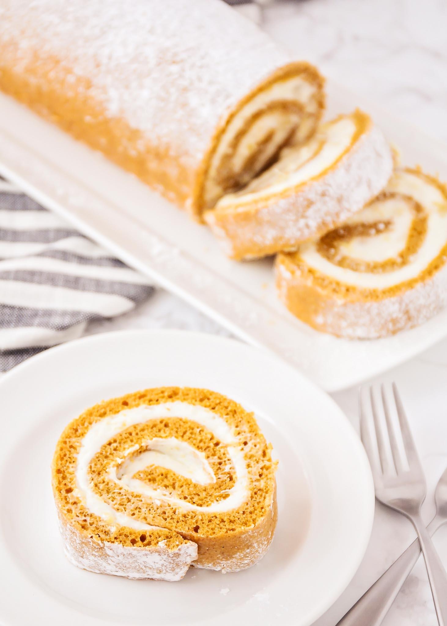 طريقة الكيكة الرول