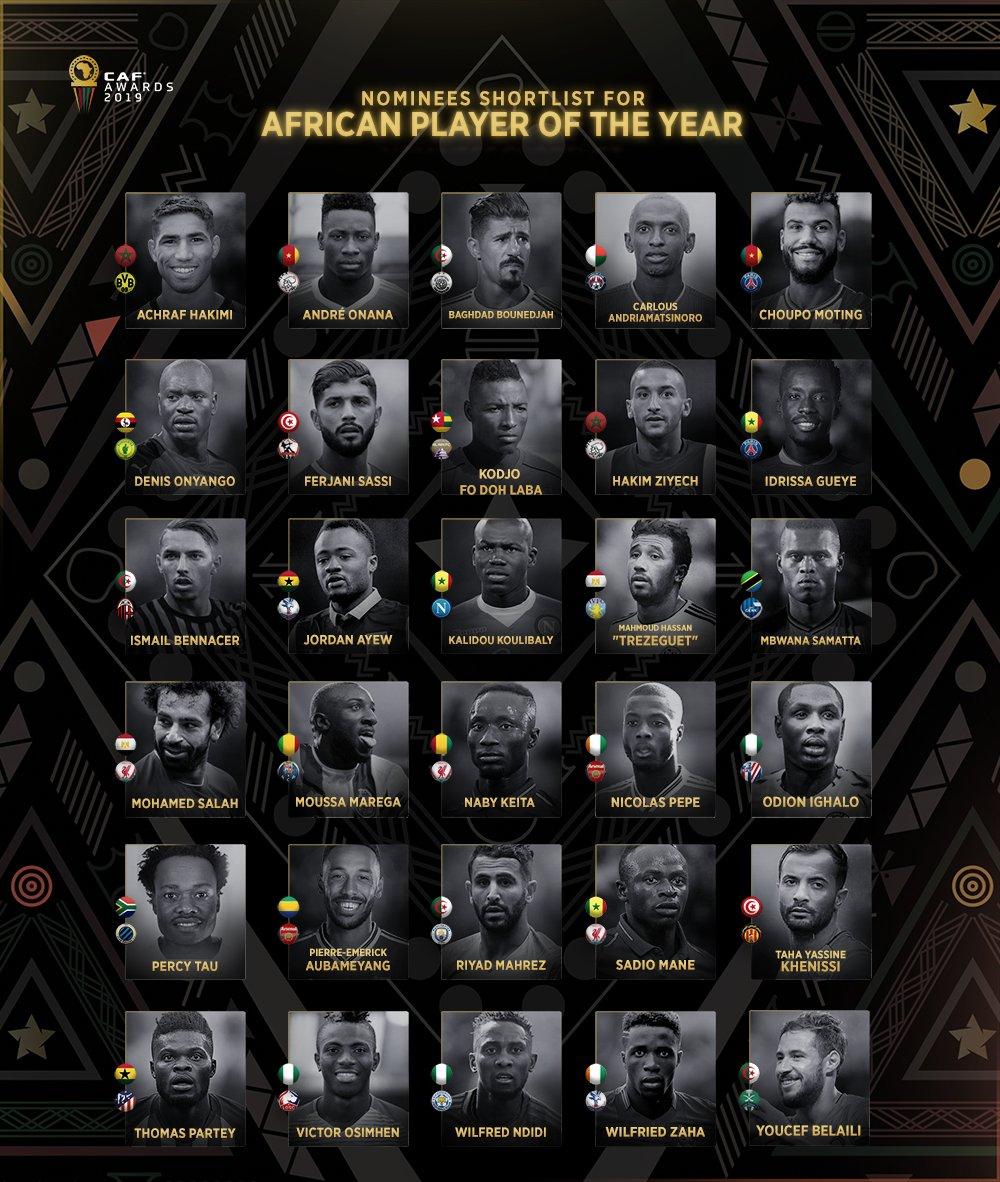 افضل لاعب فى افريقيا