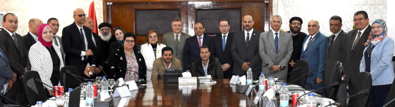 اجتماع وزارة التنمية المحلية لإستعراض آخر المستجدات الخاصة بتطوير مسار العائلة المقدسة (2)
