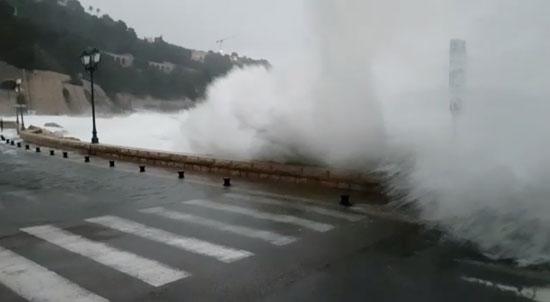 ارتفاع الأمواج