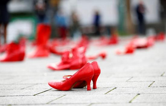 خلع الأحذية