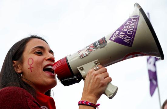 المظاهرة النسائية