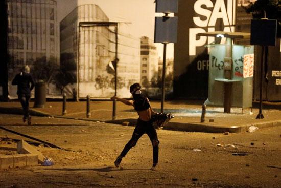 الاشتباكات فى لبنان