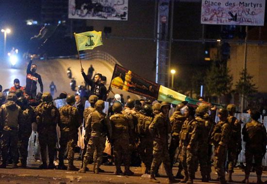 العنف فى لبنان