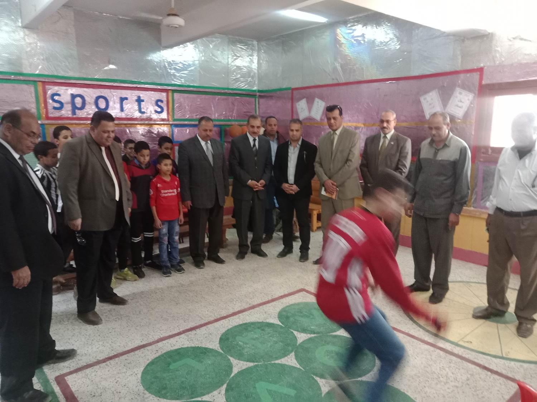 تفقد مدرسة أبو جبل بديروط (8)