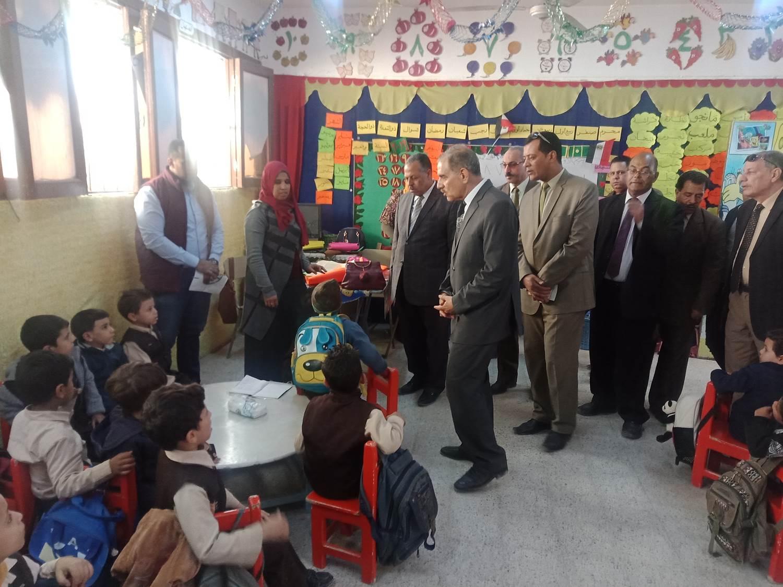 تفقد مدرسة أبو جبل بديروط (3)