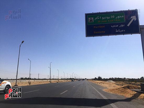 طريق بورسعيد دمياط (2)