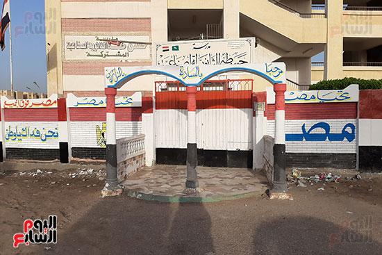 القمامة تحاصر مدرسة الثانوى الصناعى (2)