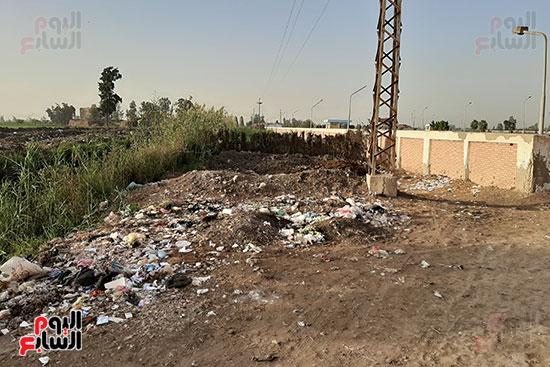 القمامة تحاصر مدرسة الثانوى الصناعى (1)