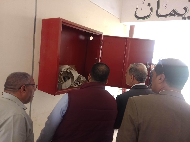 تفقد مدرسة أبو جبل بديروط (10)