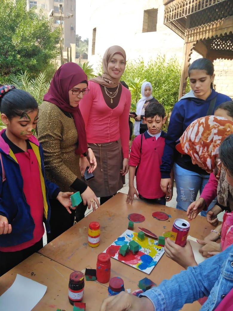 احتفالية الأطفال فى المتحف القبطى (3)
