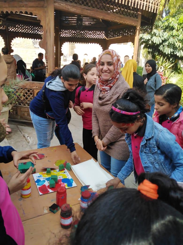 احتفالية الأطفال فى المتحف القبطى (12)