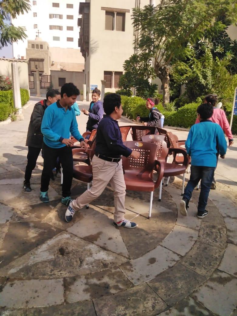 احتفالية الأطفال فى المتحف القبطى (6)