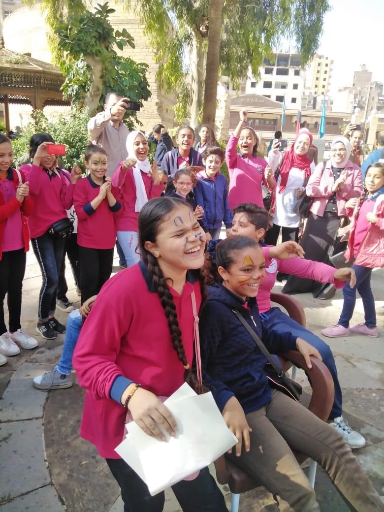 احتفالية الأطفال فى المتحف القبطى (14)