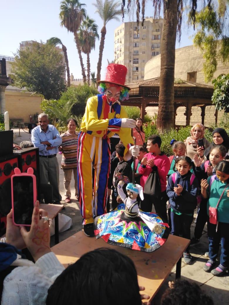 احتفالية الأطفال فى المتحف القبطى (1)