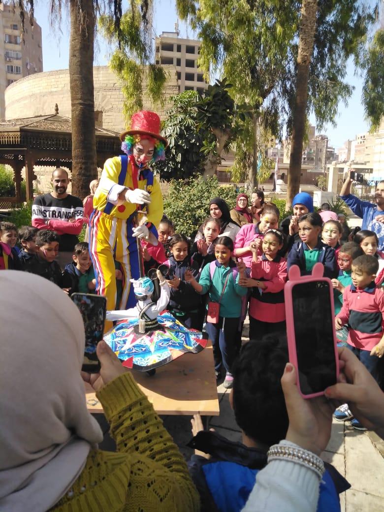 احتفالية الأطفال فى المتحف القبطى (4)