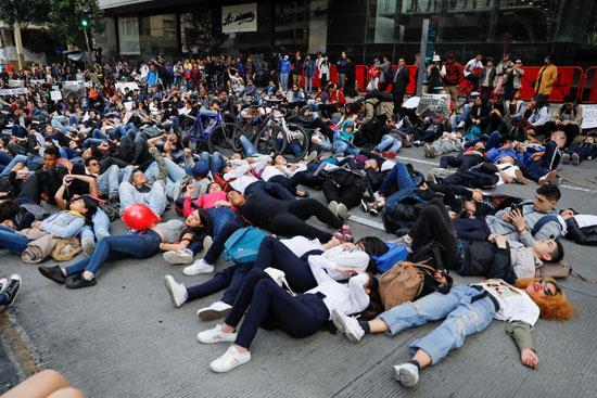إضرابات فى كولومبيا