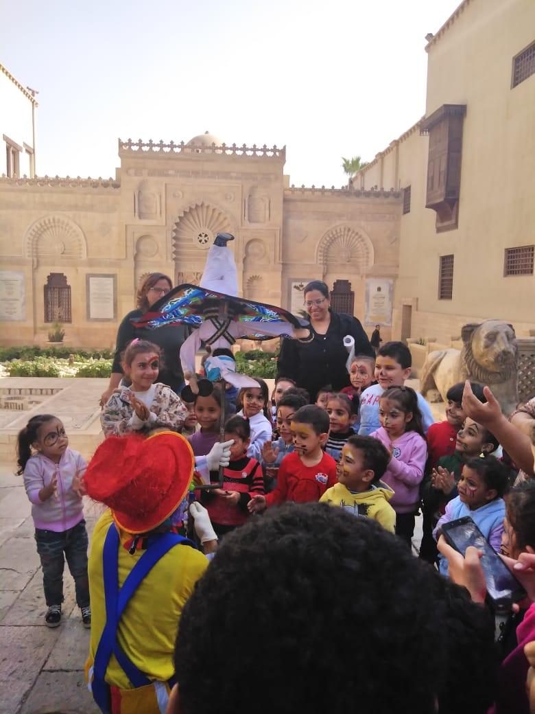 احتفالية الأطفال فى المتحف القبطى (7)