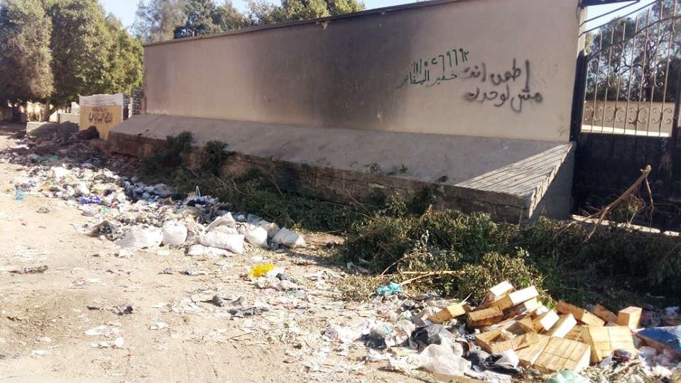 انتشار القمامة في الشوارع 2