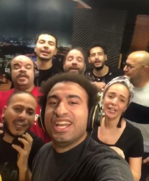على ربيع وأعضاء مسرح مصر