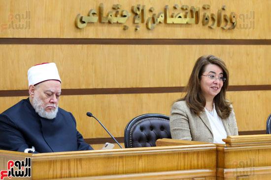 احتفالية تكريم بعثة الحج بحضور وزيرة التضامن  (5)