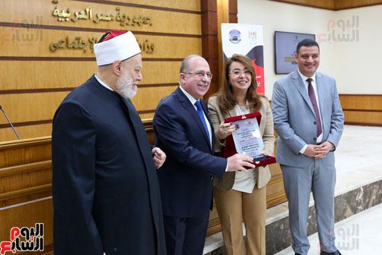 احتفالية تكريم بعثة الحج بحضور وزيرة التضامن  (2)