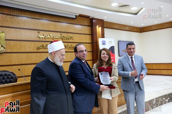احتفالية تكريم بعثة الحج بحضور وزيرة التضامن  (3)