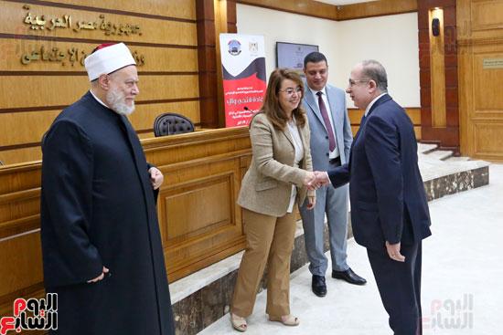 احتفالية تكريم بعثة الحج بحضور وزيرة التضامن  (1)