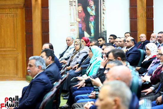 احتفالية تكريم بعثة الحج بحضور وزيرة التضامن  (6)