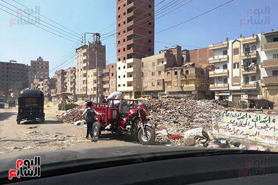 مشكلة القمامة وتراكمها بشوارع محافظة الغربية (10)