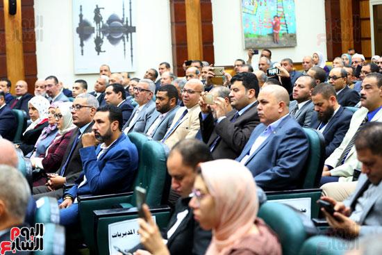 احتفالية تكريم بعثة الحج بحضور وزيرة التضامن  (8)
