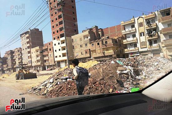 مشكلة القمامة وتراكمها بشوارع محافظة الغربية (13)