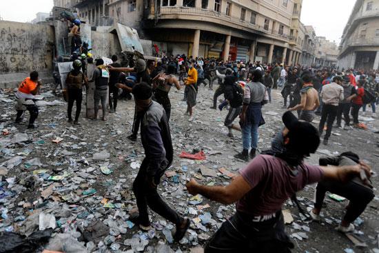 جانب من الاحتجاجات (2)