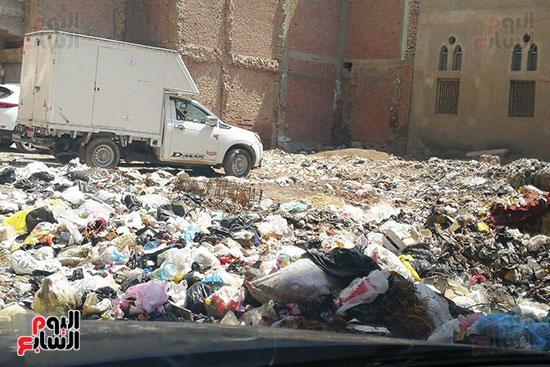 مشكلة القمامة وتراكمها بشوارع محافظة الغربية (6)