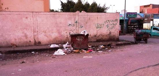 القمامة بمدن البحر الأحمر