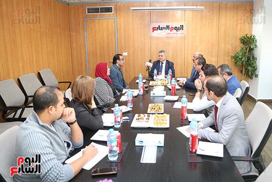وفد لجنة السياحة باليوم السابع (2)