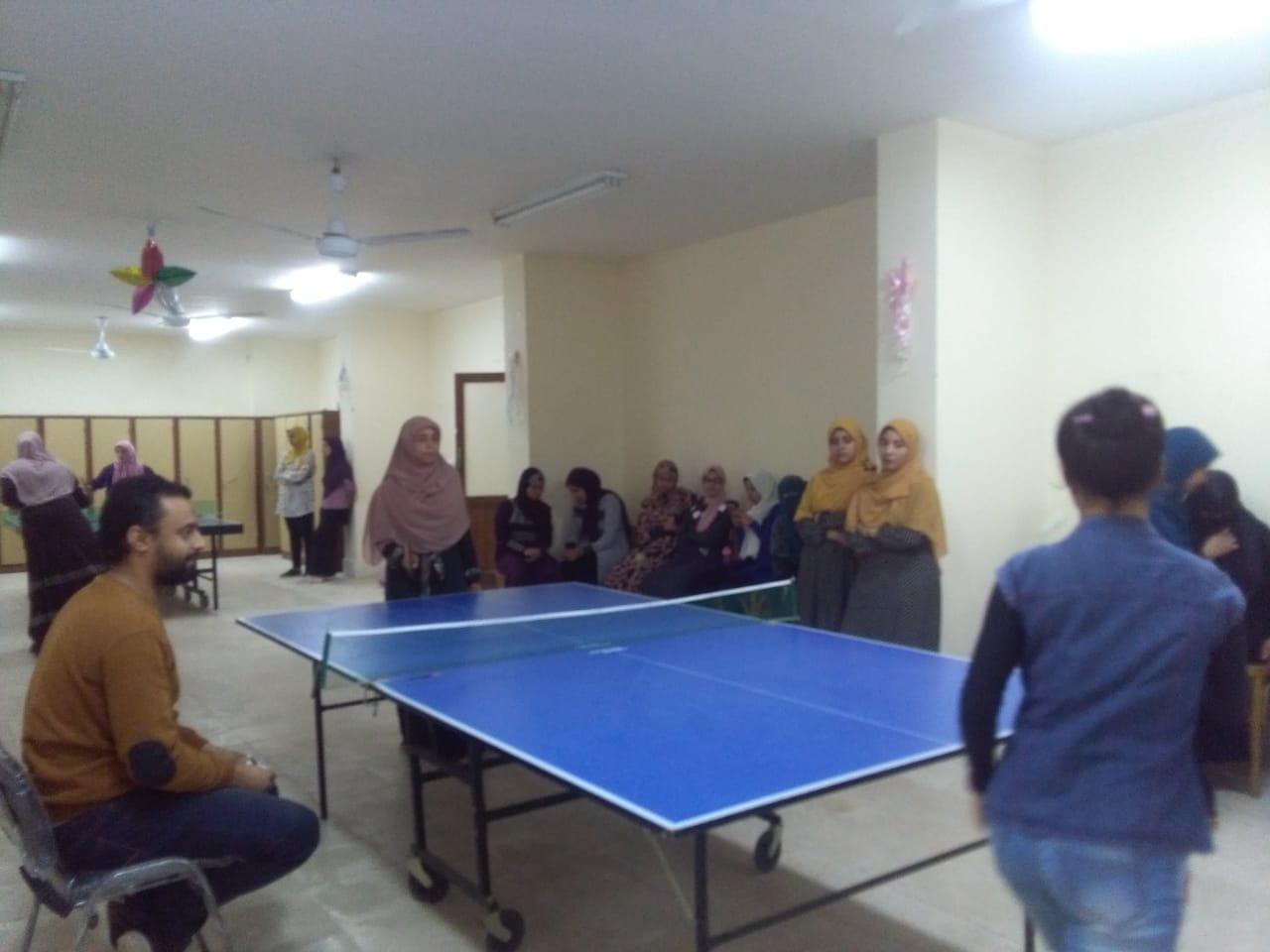 مسابقة تنس الطاولة (2)