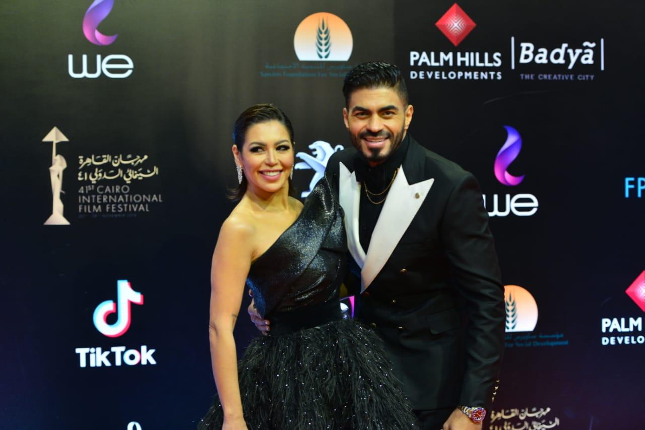 خالد سليم ولقاء الخميسى فى ختام مهرجان القاهرة