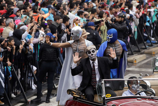 احتفالات يوم الموتى فى المكسيك (2)